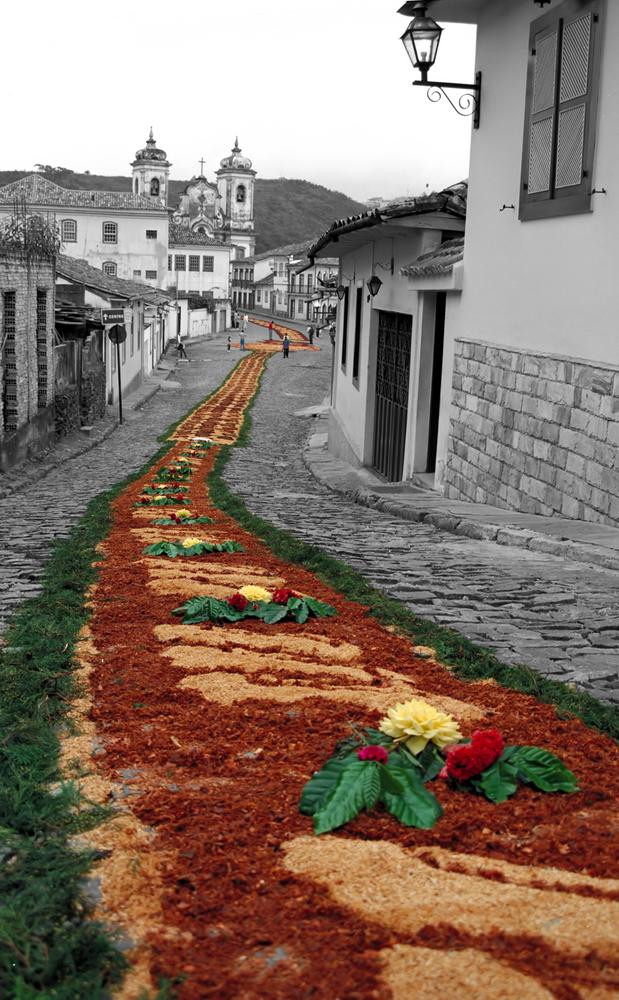 Tapete em Ouro Preto