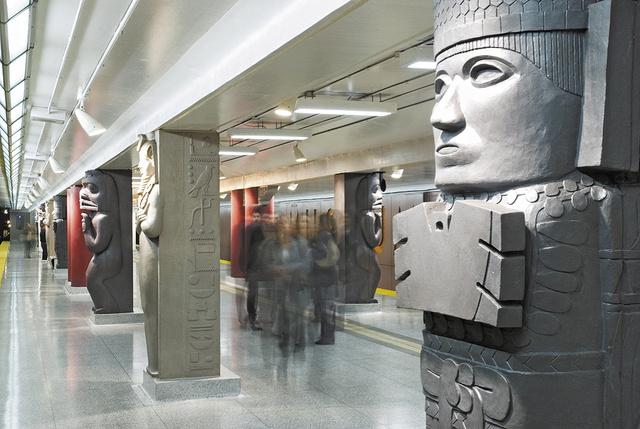 Museum Subway Station, Toronto, Canada 2