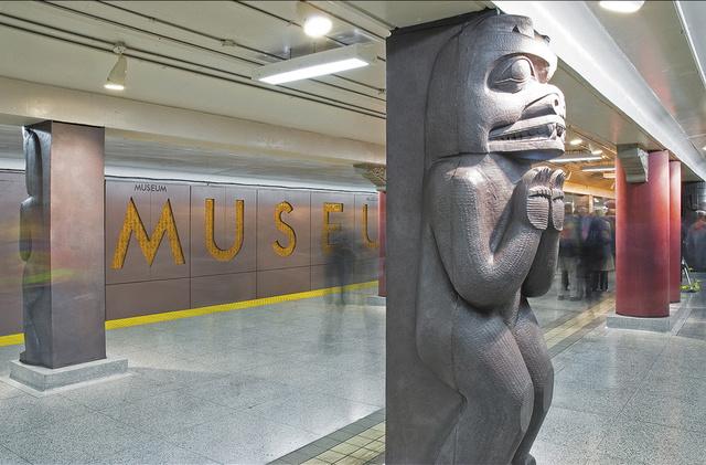 Museum Subway Station, Toronto, Canada