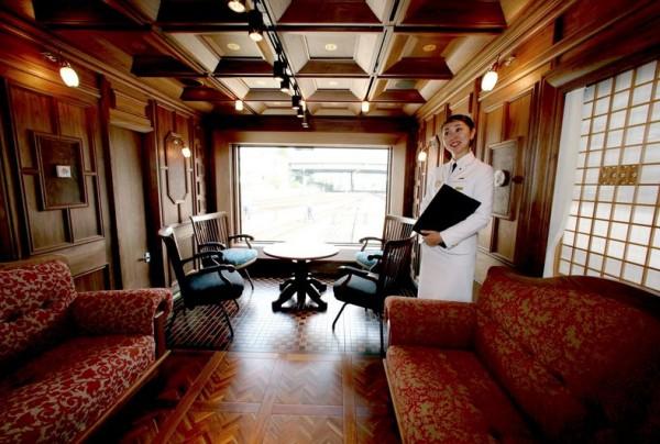 Viaje em um trem sete estrelas! 2