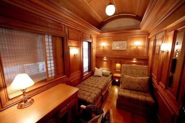 Viaje em um trem sete estrelas! 3