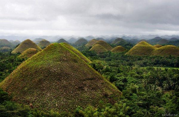 Algumas das mais impressionantes paisagens pelo mundo! Chocolate