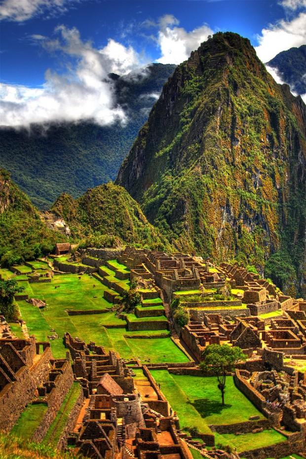 Algumas das mais impressionantes paisagens pelo mundo! Machu Picchu