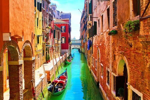Algumas das mais impressionantes paisagens pelo mundo! Veneza, Itália