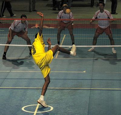 Oito competições esportivas que chamam a atenção! sepaktakraw