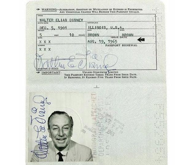Todo mundo tem que ter passaporte, até os famosos! - Disney