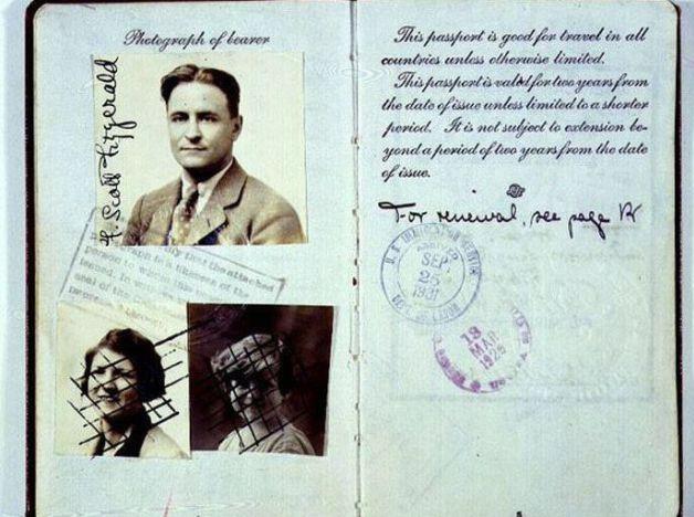Todo mundo tem que ter passaporte, até os famosos! - Fitzgerald