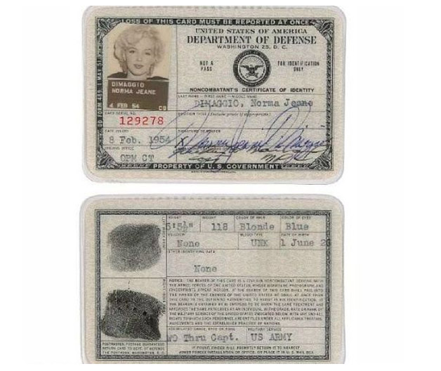 Todo mundo tem que ter passaporte, até os famosos! - Monroe