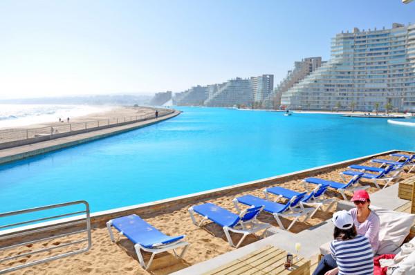 A maior piscina do mundo!