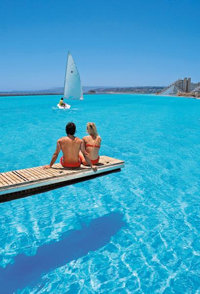 A maior piscina do mundo!6