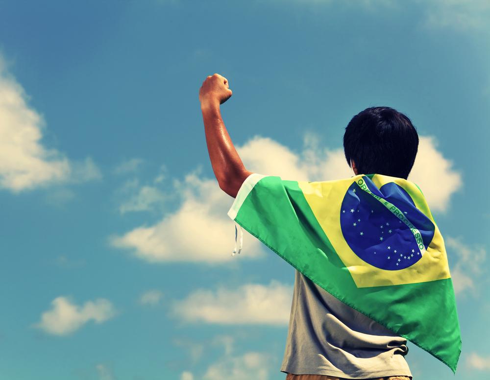 Brasil em primeiro lugar
