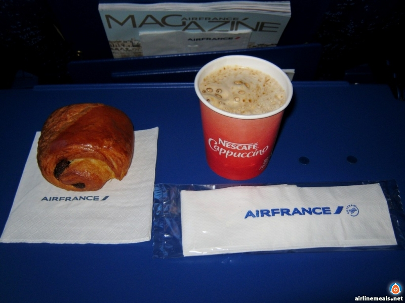 CDG to PRG, 2012 Airfrance