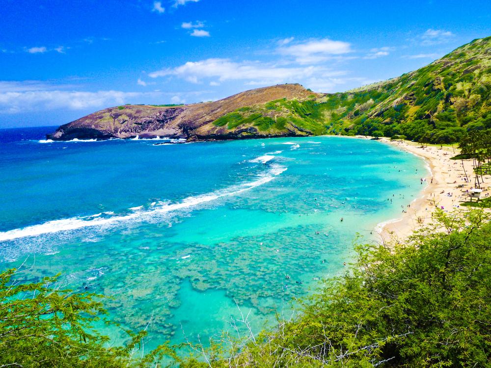 Hanauma Bay, no Havaí