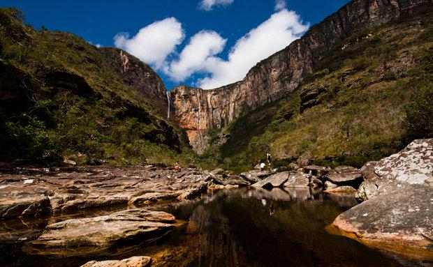 Conheça as 10 cachoeiras mais bonitas do Brasil! Cachoeira do Tabuleiro