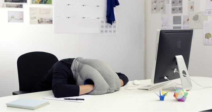 Ou para tirar uma soneca no trabalho, porque não?