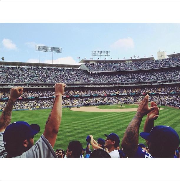 Os lugares mais fotografados de 2013! Dodger LA