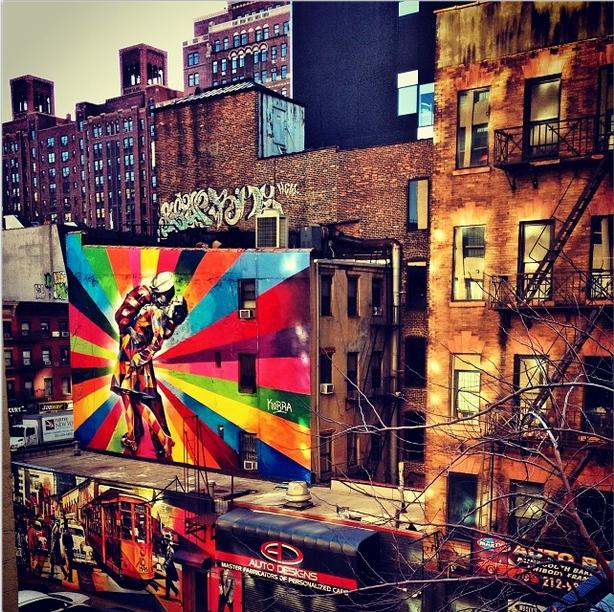 Os lugares mais fotografados de 2013! NY highline