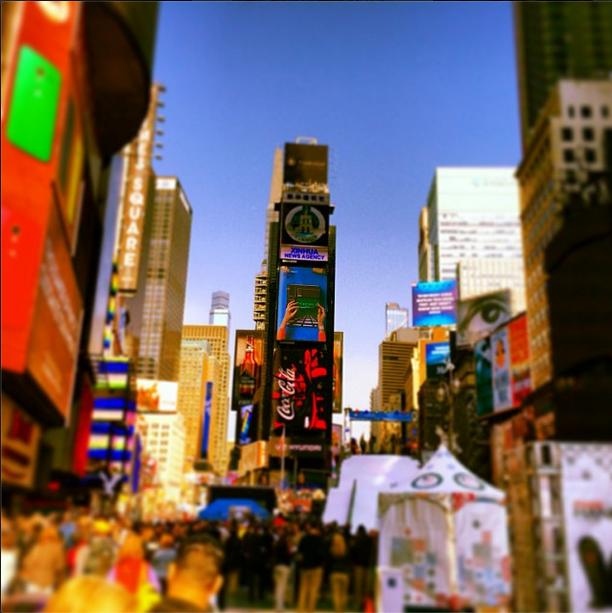 Os lugares mais fotografados de 2013! Times Square