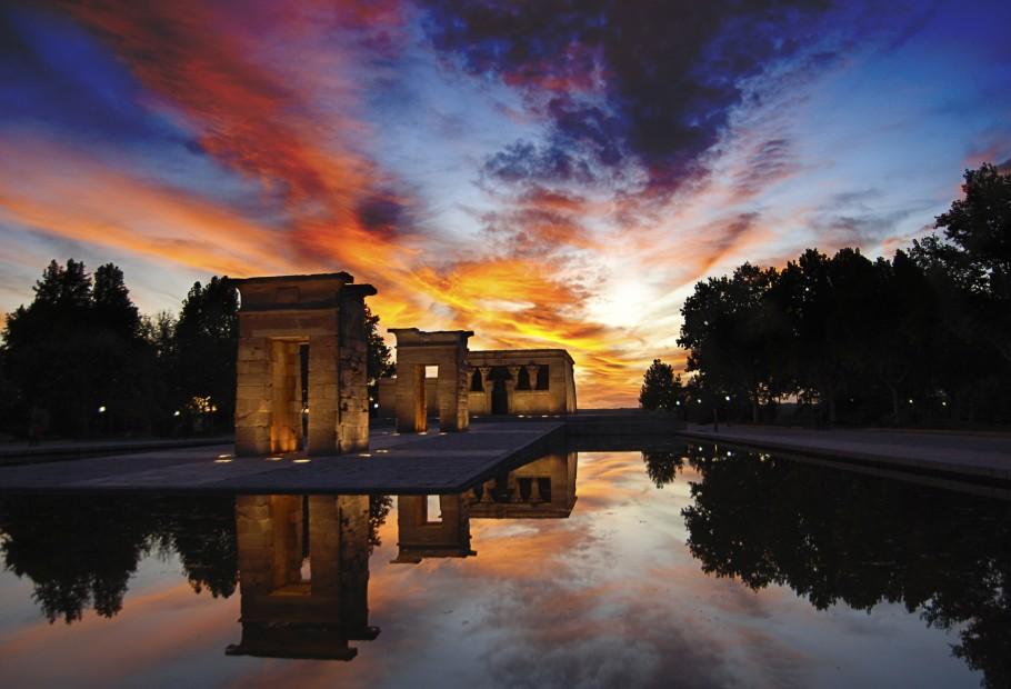 Templo de Debod (Madrid – Espanha)