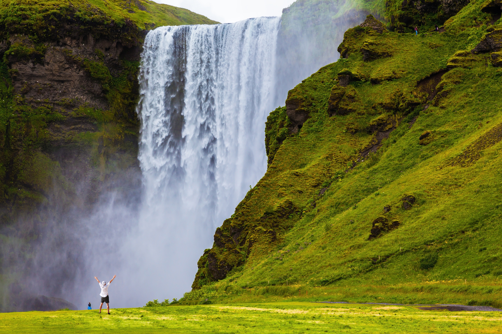 Skogafoss in Iceland_verao
