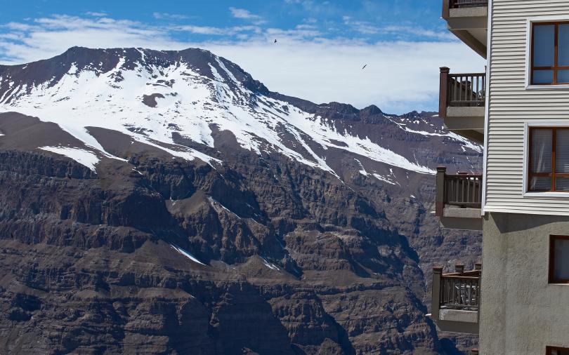 Valle Nevado, no Chile