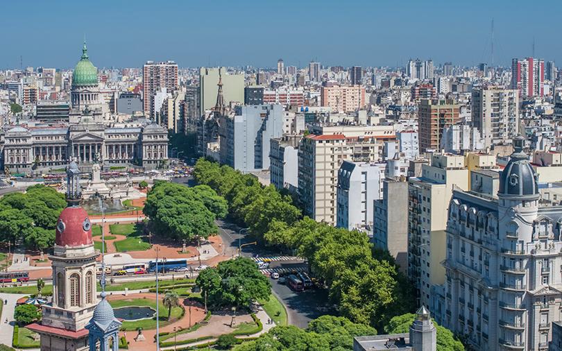 panorama da cidade de buenos aires