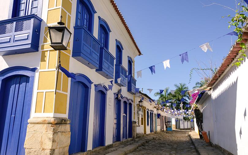 rua da cidade de paraty