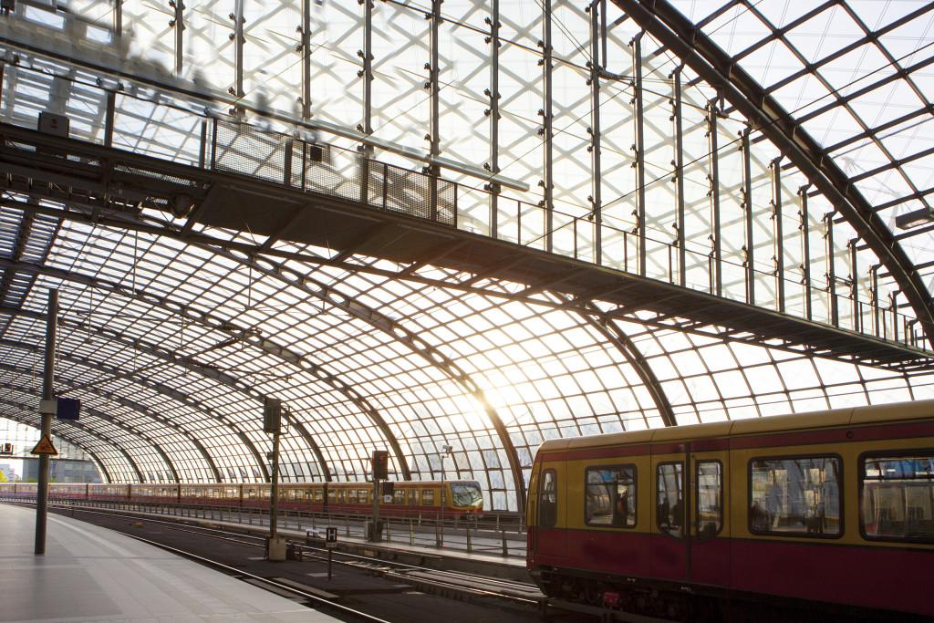 Berlin train main station (Hauptbahnhof)