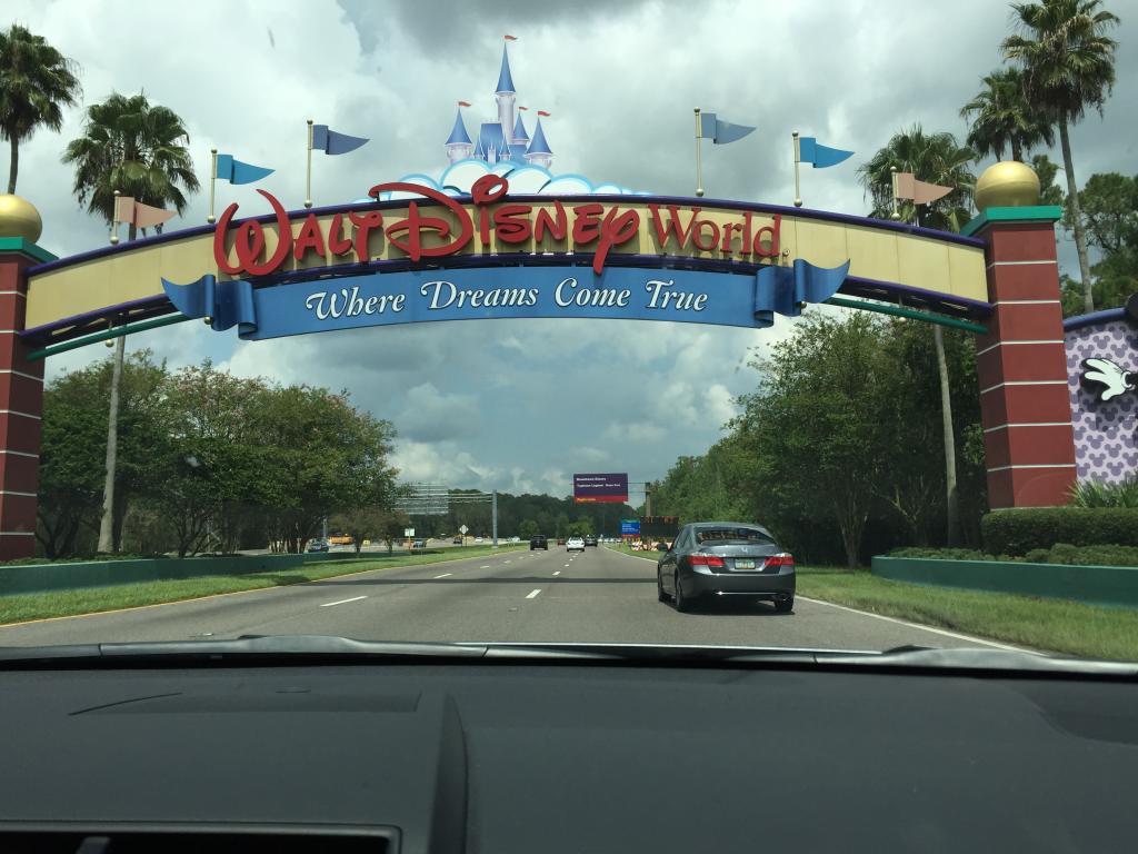 Entrada do Walt Disney World