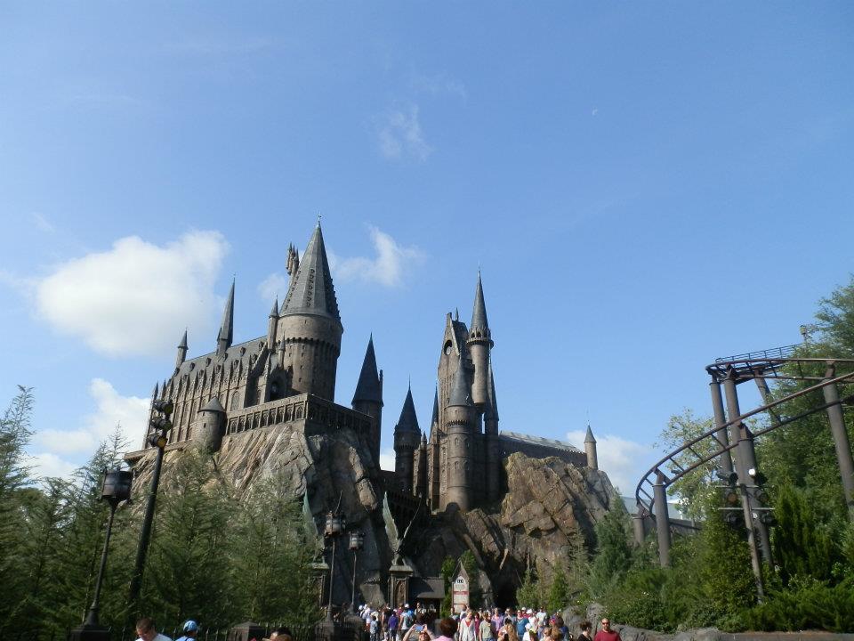 Castelo do Harry Potter na Disney.