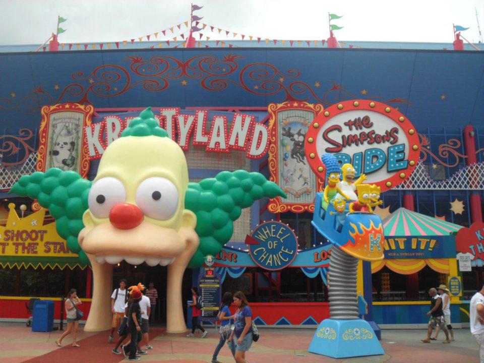 Krustyland na Disney
