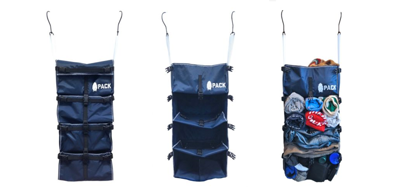 Foto: Ebay / Link: http://www.ebay.com/itm/Hanging-Backpack-Organizer-and-Travel-Organizer-Navy-Blue-Rugged-Nylon-Build-/282062914951?hash=item41ac428587:g:J-AAAOSwT~9WhyJt