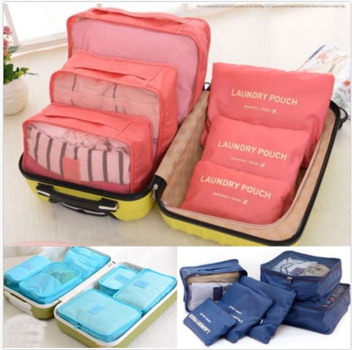 Foto: Ebay / http://www.ebay.com/itm/6-Pcs-Set-Waterproof-Clothes-Storage-Bags-Packing-Cube-Travel-Luggage-Organizer-/181731151814?hash=item2a50054fc6:g:U44AAOSwcL5XOSqF