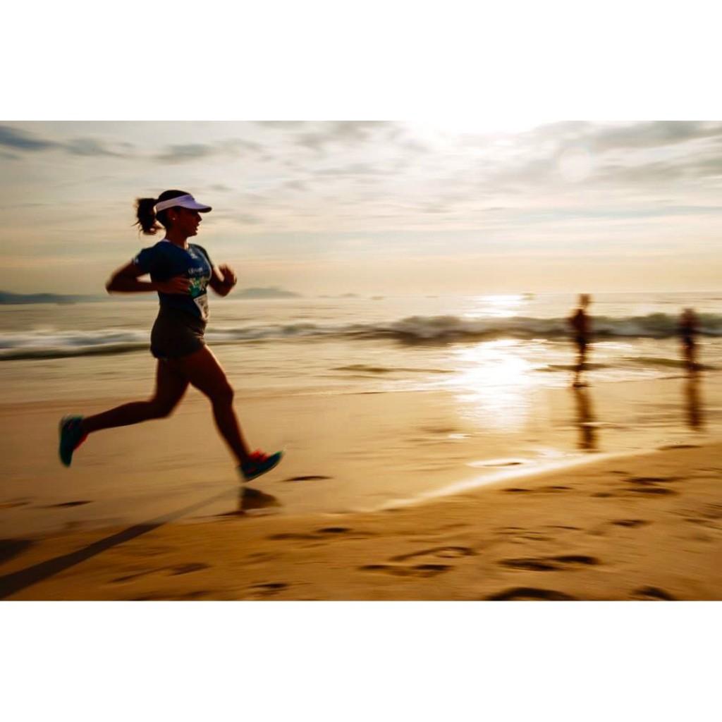 Correr na Praia - Foto: Luana Dutra