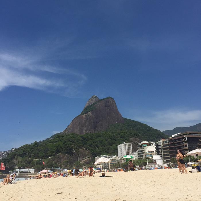Praia do Leblon - Foto: Paula Rebouças