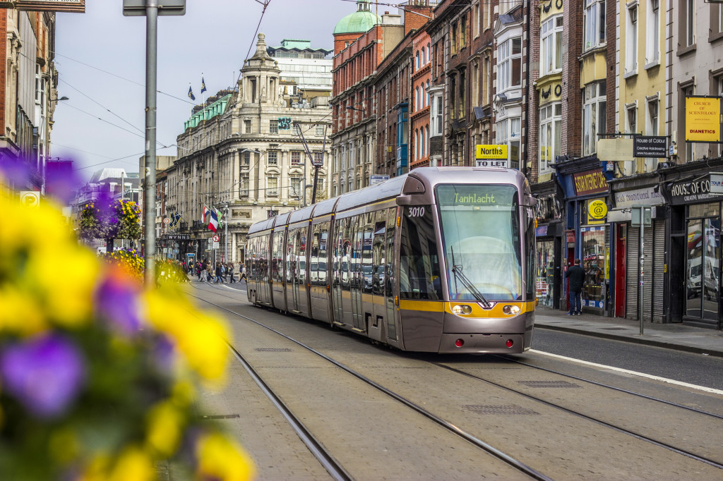 LUAS, o VLT de Dublin